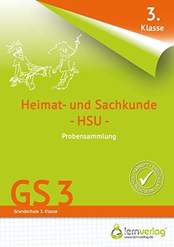 Übungsheft Mit Probensammlungen Grundschule Heimat  Und Sachkunde 3. Klasse