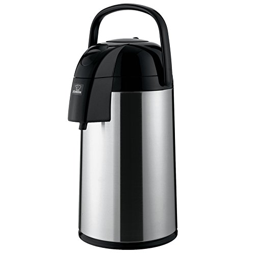 Zojirushi AAWE-30SB Supreme Air Pot, 2.2 Liters, Polished Stainless, Made in Japan