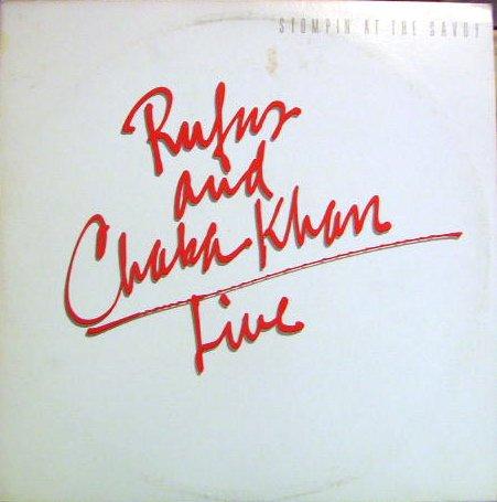 Rufus and Chaka Khan Live: Stompin' At The Savoy [2 Vinyl LP Set] [Stereo] by Warner Brothers