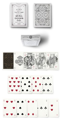 White Misc. Goods Co. Playing Cards Deck Printed By Uspcc by USPCC: MISC. GOOD CO.