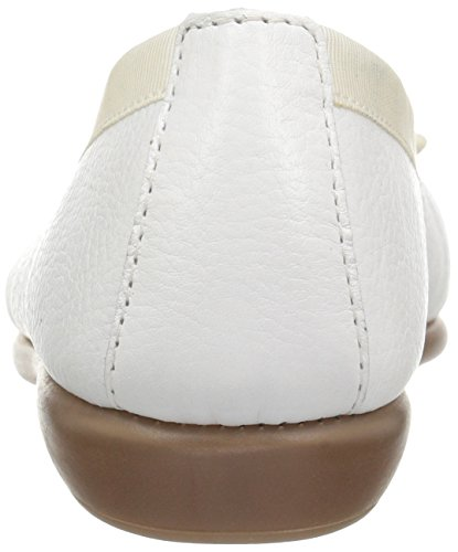 Aerosoles Women's Ballet Flat White Leather free shipping low shipping fee sale countdown package 11eOaqe6X