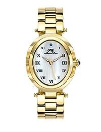 Porsamo Bleu South Sea Oval Stainless Steel Champagne Women's Watch 105BSSO