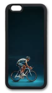 Bicycles TPU Case Cover for iphone 6 plus 5.5 inch Black wangjiang maoyi