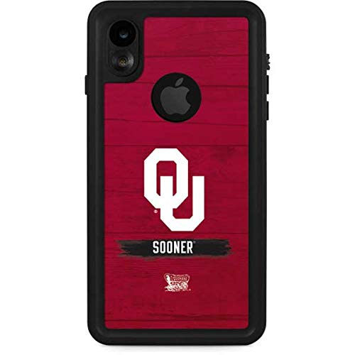 - Skinit Oklahoma Sooners iPhone XR Waterproof Case - Officially Licensed Phone Case - Fully Submersible - Snow, Dirt, Water Protected iPhone XR Cover