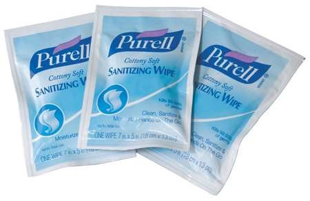 Hand Sanitizing Wipes, 7 x 5'', 1000 Wipes