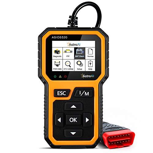 AstroAI Multi-Functional OBD2 Scanner, BAT Check, Auto OBDII Check Engine Car Code Reader Diagnostic Tool-Error Code…