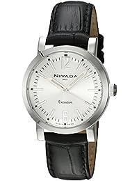 Nivada NP16056LACPR Game Reloj Cuarzo Análogo, color Plata/Negro