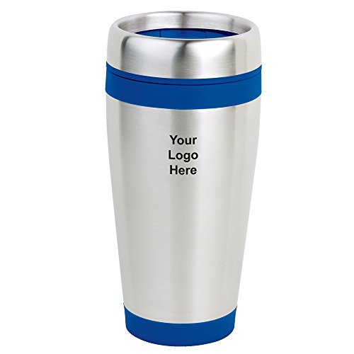 16 OZ Stainless Steel Tumbler - 30 Quantity - $4.55 Each - PROMOTIONAL PRODUCT / BULK / BRANDED with YOUR LOGO / CUSTOMIZED by Sunrise Identity