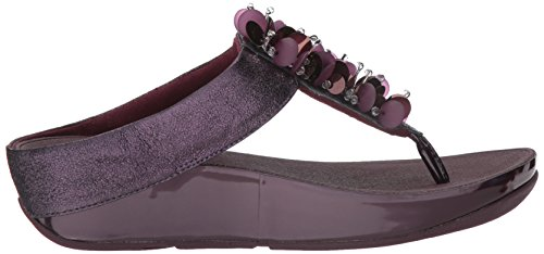Tira Boogaloo Sandalias Toe Post Mujer Plum Para Con Deep Fitflop A T SHXqOn
