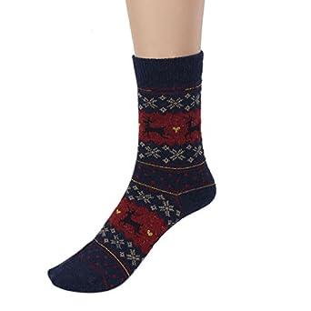 d6afba285 Amazon.com  Christmas Socks for Women