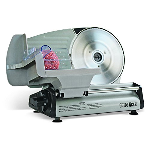 Guide Gear Electric Stainless Steel Food Slicer 8.7