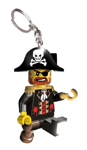 LEGO Lights Captain Brickbeard - Llavero con figurita, diseño de Pirata