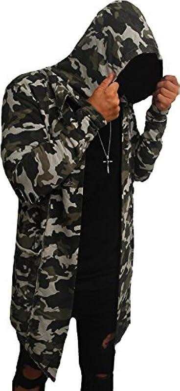 Camouflage Oversize designerska bluza dresowa kardigan, bluza z kapturem, bluza męska z kapturem, długi rękaw, nowa bluza z kapturem, długi sweter z kapturem, bluza skater hip hop, bluza z długim r