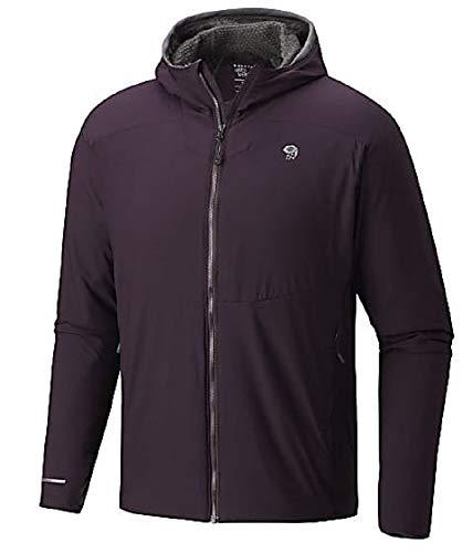 Mountain Hardwear Men's ATherm Hooded Jacket (X-Large, Dark Tannin)