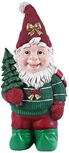 Elfo de árbol de Navidad Estatua