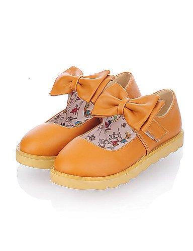 Planos Cn37 Mujer Zapatos Semicuero De Uk4 Zq Rosa Cn39 Orange Azul Yellow Yyz Naranja 7 Eu37 us6 Uk6 Punta 5 5 Amarillo Plano Casual 5 Eu39 Tac¨®n Redonda us8 wfxC8q