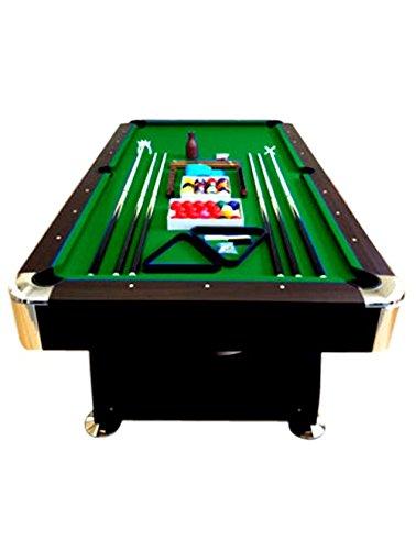 Billardtisch 8 ft Billard Billard-Spiel Messung 220 x 110 cm neue Grün