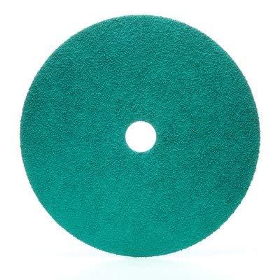 3M Green Corps Grinding Disc 01922, 7'' x 7/8'', 36, 20 Discs/bx (3M-1922)