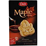 Dare Foods Maple Leaf Creme Filled Cookie, 10.2 Ounce - 12 per case.