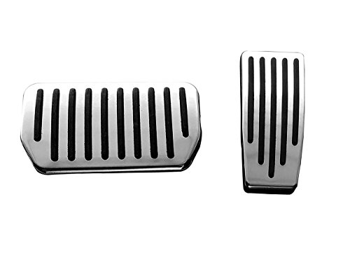 ormance Foot Pedal Pads for Model S and Model X, Auto Aluminum Pedal Covers(A Set of 2) ()