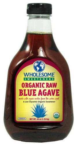 Wholesome Sweeteners - Organic Raw Blue Agave, 44 Ounce -- 6 per case. by Wholesome Sweeteners