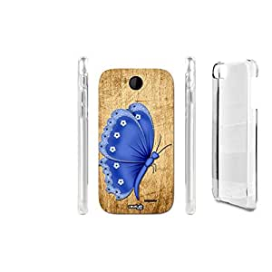 FUNDA CARCASA EFECTO MADERA BLUE FLY PARA HTC DESIRE 310