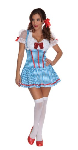 [Secret Wishes The Wizard of Oz Sexy Dorothy Costume, Blue, X-Small] (Dorothy Of Oz Costumes For Adults)