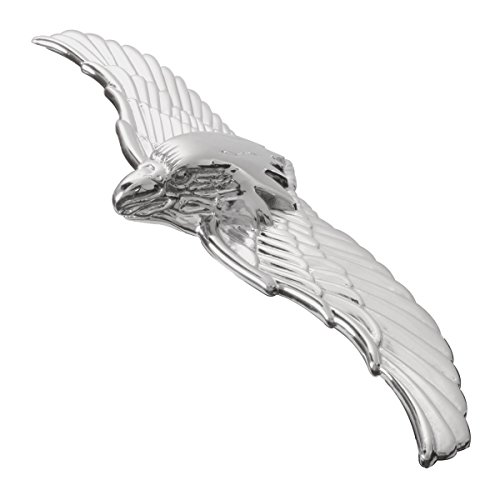 CPW (Tm) Chrome War Eagle Metal Emblem For Hotrod Car, used for sale  Delivered anywhere in USA