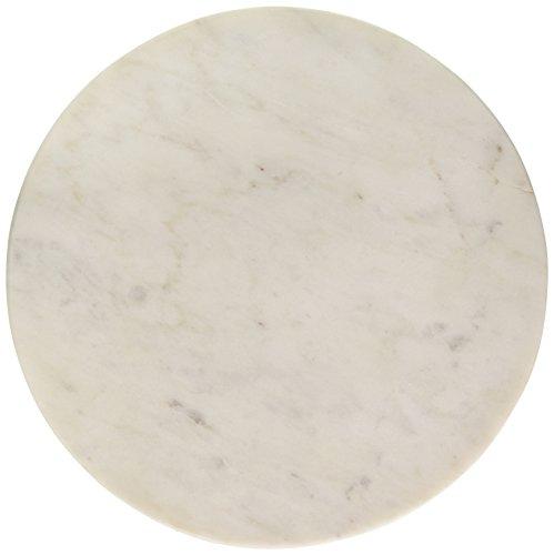 Creative Co-op DA6158 Marble Board, Small, White
