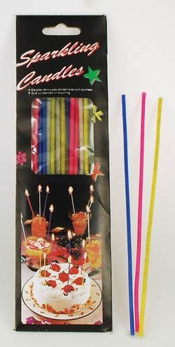 Image Unavailable Not Available For Colour Sparkler Birthday Candles