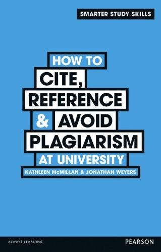 How to Cite, Reference & Avoid Plagarism at University (Smarter Study Skills)