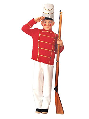 Deluxe Toy Soldier Child Costume - Large