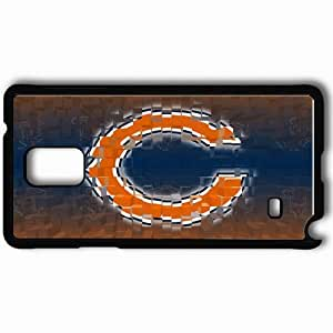Personalized Samsung Note 4 Cell phone Case/Cover Skin 1627 chicago bears Black