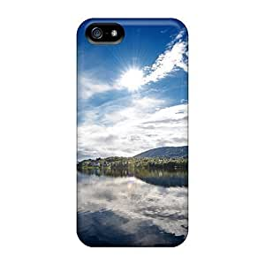 Awesome Phone Case Defender Tpu Hard Case Cover For Iphone 5/5s- Sunny Lake by icecream design