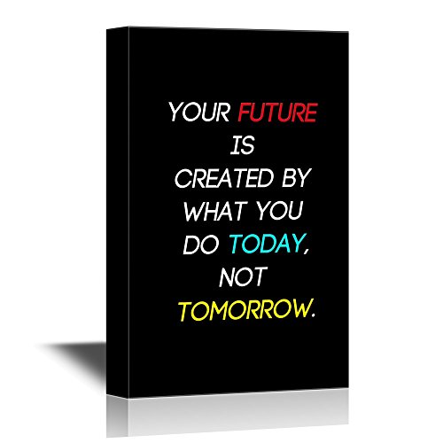 Gym Fitness Quotes Your Future is Created by What You Do Today Not Tomorrow Gallery