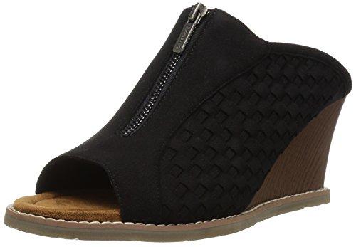 BEARPAW Women's NINA Sandal Black 9 M -