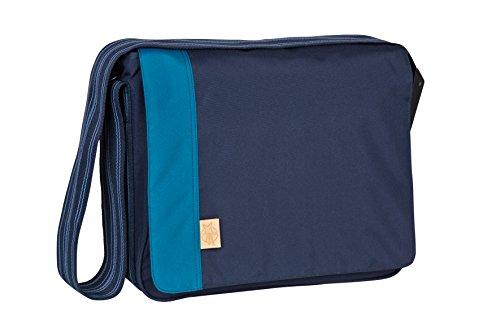 Lässig LMB10303122 - Bolsa bandolera para pañales de estilo informal, color azul