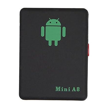 qzt A8 Mini Global GPS Localizador multifuncional espía oído Bug Personal GSM Localizador Tracker Finder posicionamiento Audio Vigilancia SOS Seguridad para ...