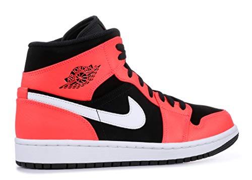Black Hombre Jordan Para Zapatillas De Infrared Mid White Deporte Air 1 Nike zw7FxF