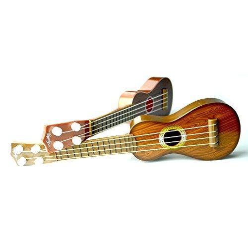 Children Guitar Toys, 17 Inch Kids Mini Ukulele Toys Musical Learning Resources kit for Toddler Boys Girls 3-6 Year Old PinnacleT1