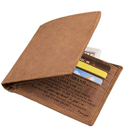 Husband Engraved Bifold Wallet - You Are
