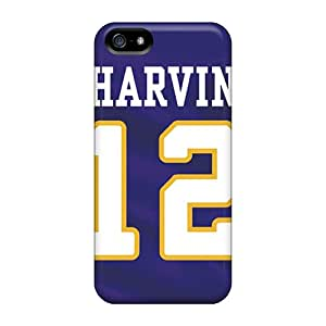 Iphone 5/5s HoB6974xmpN Unique Design Realistic Minnesota Vikings Image High Quality Hard Cell-phone Case -AaronBlanchette