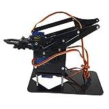 Flameer 4 DOF DIY Metal Robotic Arm with Servos Controlled Robot Arm Circuit Kits for for Arduino 51 Robotics