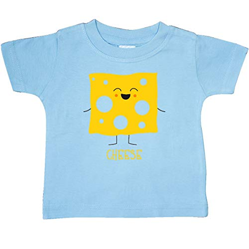 inktastic - Cheese Costume Baby T-Shirt 6 Months Light Blue 31d0e