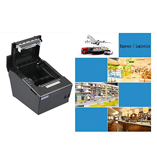 80mm Thermal Receipt POS Printer Windows Driver Auto Cutter with USB Serial Ethernet ESC/POS RJ11 RJ12 by Oshide (Image #4)