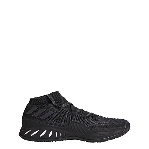 Adidas Crazy Explosive 2017 Primeknit Low Shoe Mens Basket Core Nero-grigio-carbonio