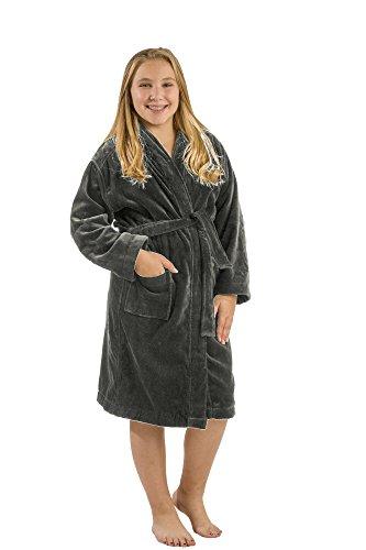 terry cloth robe kids - 7
