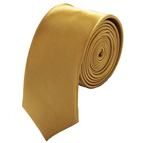 Gold Tie Mens - Soophen Mens Solid Color 2