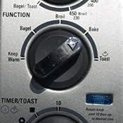 Amazon Com Black Amp Decker Tro480bs 4 Slice Toaster Oven