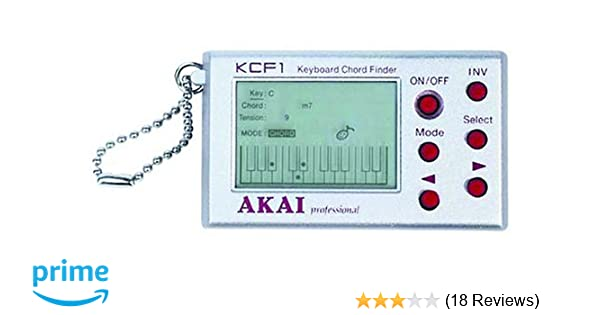 Amazon.com: Akai KCF1 Keyboard Chord Finder: Musical Instruments